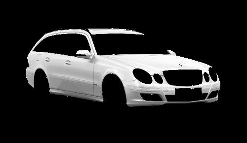 Цвета кузова E-Class (S211)